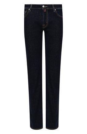 Мужские джинсы JACOB COHEN темно-синего цвета, арт. J620 C0MF 01190-W1/55 | Фото 1