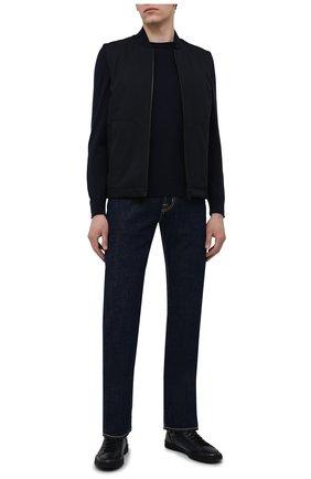 Мужские джинсы JACOB COHEN темно-синего цвета, арт. J620 C0MF 01190-W1/55 | Фото 2