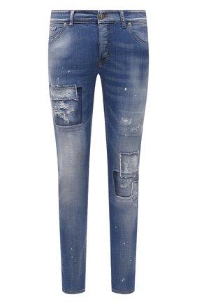 Мужские джинсы PREMIUM MOOD DENIM SUPERIOR синего цвета, арт. S21 0310340002/PAUL | Фото 1