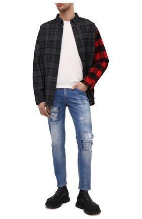 Мужские джинсы PREMIUM MOOD DENIM SUPERIOR синего цвета, арт. S21 0310340002/PAUL | Фото 2