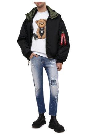 Мужские джинсы PREMIUM MOOD DENIM SUPERIOR синего цвета, арт. S21 03527/BARRET | Фото 2