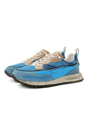 Мужские комбинированные кроссовки HIDNANDER синего цвета, арт. HC1MS230 320   Фото 1