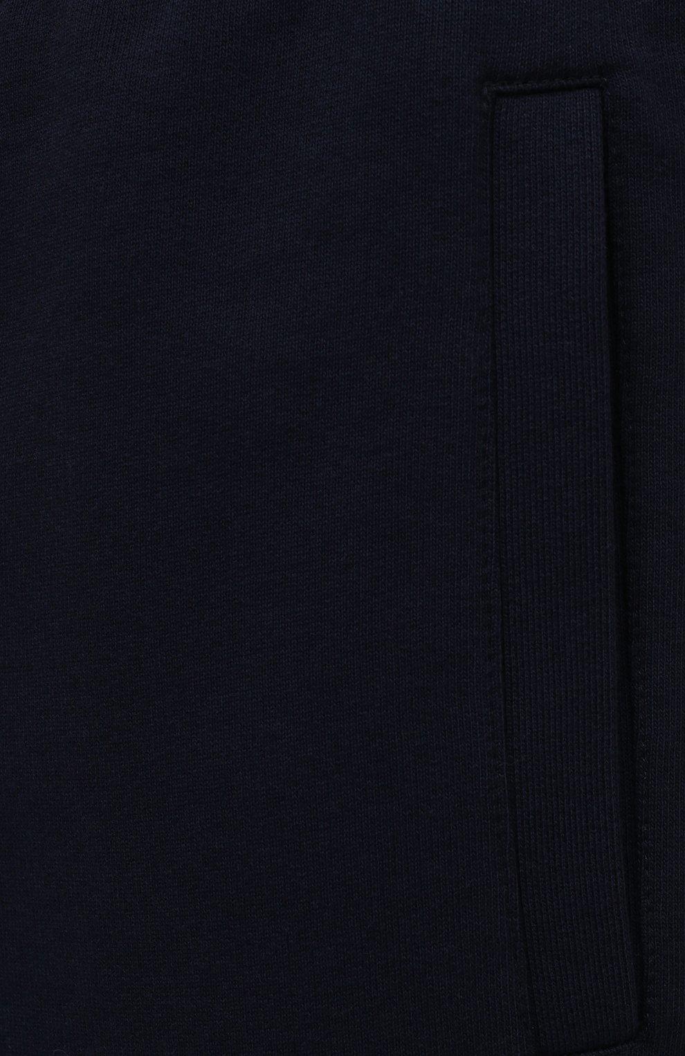 Мужские хлопковые брюки BRIONI темно-синего цвета, арт. UJDJ0L/P0637 | Фото 5
