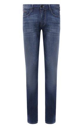 Мужские джинсы EMPORIO ARMANI синего цвета, арт. 3K1J06/1D5QZ | Фото 1