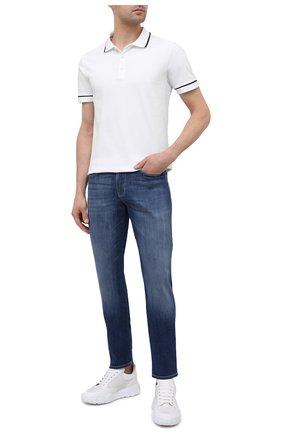 Мужские джинсы EMPORIO ARMANI синего цвета, арт. 3K1J06/1D5QZ | Фото 2
