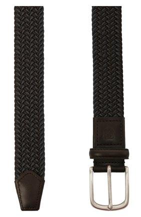 Мужской комбинированный ремень CORNELIANI серого цвета, арт. 87V356-1120828/00 | Фото 2