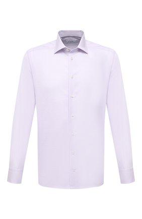 Мужская хлопковая сорочка ETON сиреневого цвета, арт. 1000 00438 | Фото 1