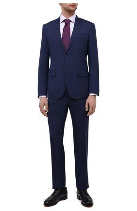 Мужская хлопковая сорочка ETON сиреневого цвета, арт. 1000 00438 | Фото 2