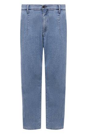 Мужские джинсы GIORGIO ARMANI голубого цвета, арт. 3KSP61/SD0TZ | Фото 1