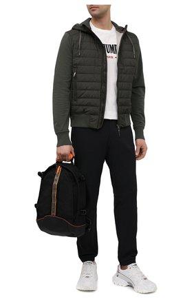 Мужской текстильный рюкзак taku PARAJUMPERS черного цвета, арт. BA06/TAKU   Фото 2
