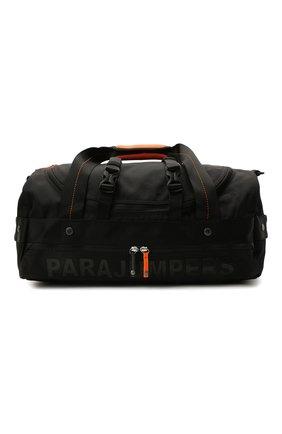 Мужская текстильная спортивная сумка mendenhall PARAJUMPERS черного цвета, арт. BA10/MENDENHALL   Фото 1