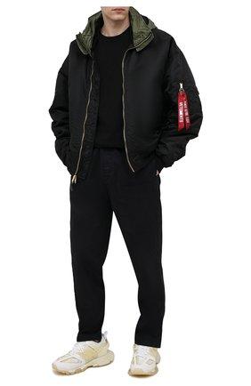 Мужские комбинированные кроссовки track BALENCIAGA белого цвета, арт. 647742/W3BM1 | Фото 2 (Материал внешний: Текстиль; Материал внутренний: Текстиль; Подошва: Массивная; Стили: Гранж)