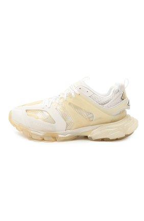 Мужские комбинированные кроссовки track BALENCIAGA белого цвета, арт. 647742/W3BM1   Фото 3 (Материал внешний: Текстиль; Стили: Гранж; Материал внутренний: Текстиль; Подошва: Массивная)