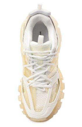 Мужские комбинированные кроссовки track BALENCIAGA белого цвета, арт. 647742/W3BM1   Фото 5 (Материал внешний: Текстиль; Стили: Гранж; Материал внутренний: Текстиль; Подошва: Массивная)
