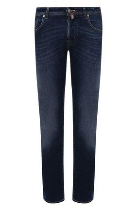Мужские джинсы JACOB COHEN темно-синего цвета, арт. J688 LIMITED C0MF 08792-W1/55 | Фото 1