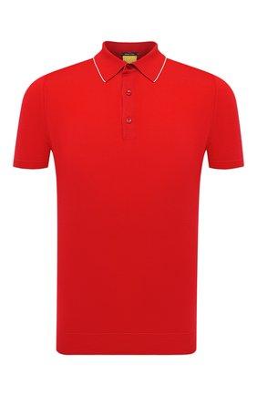 Мужское хлопковое поло SVEVO красного цвета, арт. 4650SE21/MP46 | Фото 1
