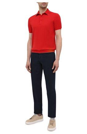 Мужское хлопковое поло SVEVO красного цвета, арт. 4650SE21/MP46 | Фото 2