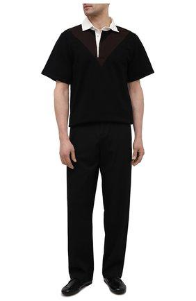 Мужские кожаные пенни-лоферы ROCCO P. черного цвета, арт. 12008/TRIP0N   Фото 2