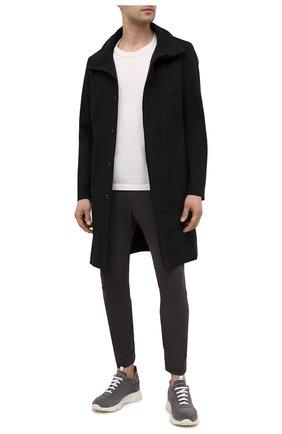 Мужские брюки KAZUYUKI KUMAGAI темно-серого цвета, арт. AP11-261   Фото 2