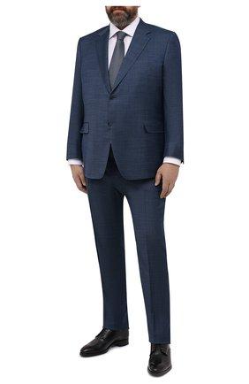 Мужской шерстяной костюм CANALI синего цвета, арт. 21280/10/AA02524/60-64   Фото 1