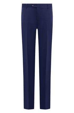 Мужские шерстяные брюки CANALI синего цвета, арт. 71012/AS10315/60-64   Фото 1