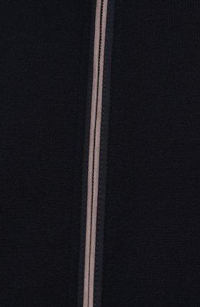 Мужской шерстяной кардиган PAUL&SHARK темно-синего цвета, арт. 21411713/IAG/3XL-6XL   Фото 5 (Мужское Кросс-КТ: Кардиган-одежда; Материал внешний: Шерсть; Рукава: Длинные; Длина (для топов): Удлиненные; Стили: Кэжуэл)