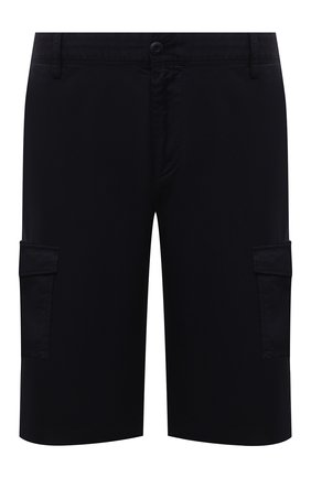 Мужские хлопковые шорты PAUL&SHARK темно-синего цвета, арт. 21414003/E7A | Фото 1