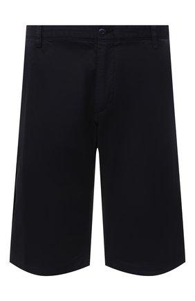 Мужские хлопковые шорты PAUL&SHARK темно-синего цвета, арт. 21414003/E7A/62-64 | Фото 1