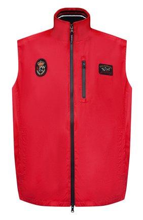 Мужской жилет PAUL&SHARK красного цвета, арт. 21412032/F8I/3XL-6XL | Фото 1