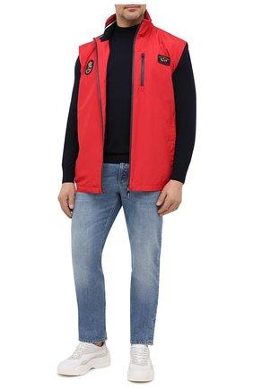 Мужской жилет PAUL&SHARK красного цвета, арт. 21412032/F8I/3XL-6XL | Фото 2