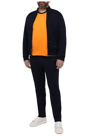 Мужской хлопковый спортивный костюм LUCIANO BARBERA темно-синего цвета, арт. 119500/81182/58-62 | Фото 1