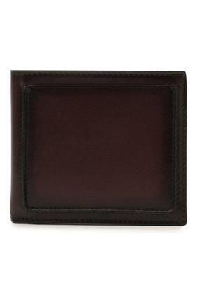 Мужской кожаное портмоне ERMENEGILDO ZEGNA бордового цвета, арт. E1155W-LHC0R | Фото 1