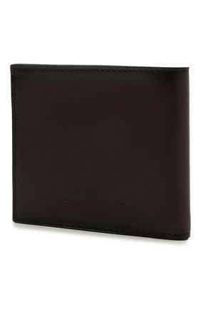 Мужской кожаное портмоне ERMENEGILDO ZEGNA бордового цвета, арт. E1155W-LHC0R | Фото 2