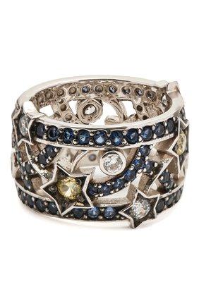 Женское кольцо star QUEENSBEE серебряного цвета, арт. 101379/7,62   Фото 1