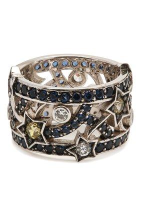 Женское кольцо star QUEENSBEE серебряного цвета, арт. 101379/7,62   Фото 2