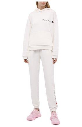 Женский хлопковый костюм SEVEN LAB белого цвета, арт. HP20-PF milk   Фото 1