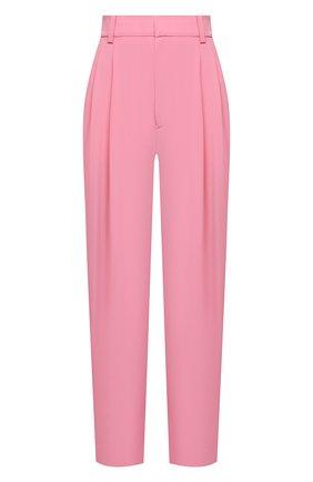Женские шелковые брюки EMILIO PUCCI светло-розового цвета, арт. 1ERT02/1E665 | Фото 1