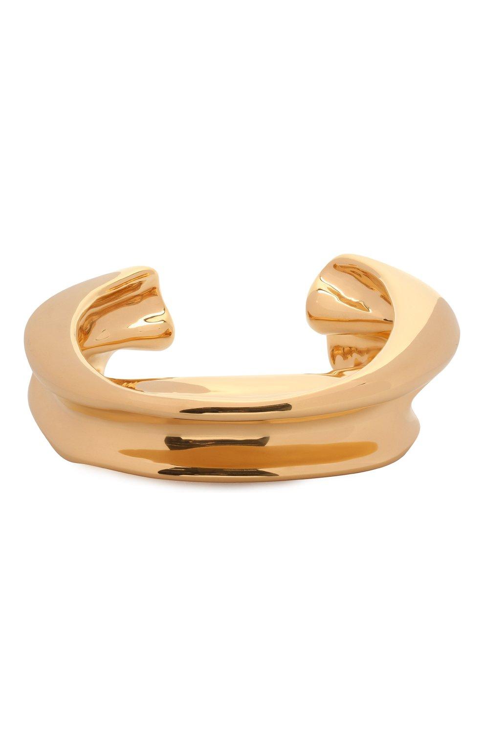 Женский браслет JIL SANDER золотого цвета, арт. JSWS832157/WSS79009 | Фото 1