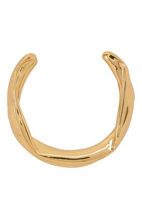 Женское колье JIL SANDER золотого цвета, арт. JSWS831154/WSS79009 | Фото 1