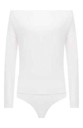 Женское боди из вискозы PAIGE белого цвета, арт. 6660F35-7363   Фото 1