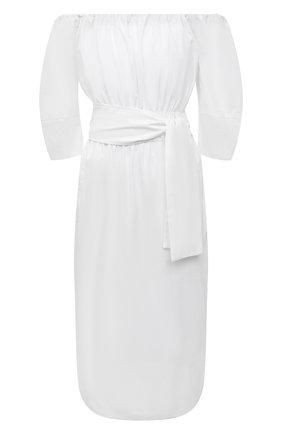 Женское хлопковое платье TELA белого цвета, арт. 01 0005 01 0151 | Фото 1