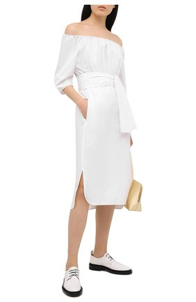 Женское хлопковое платье TELA белого цвета, арт. 01 0005 01 0151 | Фото 2