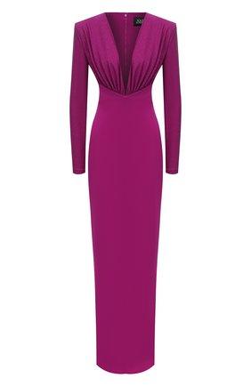 Женское платье SOLACE фиолетового цвета, арт. 0S29024 | Фото 1