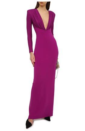 Женское платье SOLACE фиолетового цвета, арт. 0S29024 | Фото 2