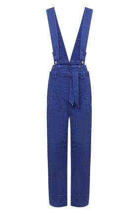Женские брюки ISABEL MARANT синего цвета, арт. PA1906-21E013I/FINEBA   Фото 1