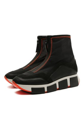 Женские комбинированные кроссовки VIC MATIE черного цвета, арт. 1Z5432D.U02TZBT001 | Фото 1