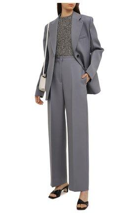 Женские кожаные мюли SERGIO ROSSI черного цвета, арт. A91360-MMVS57 | Фото 2