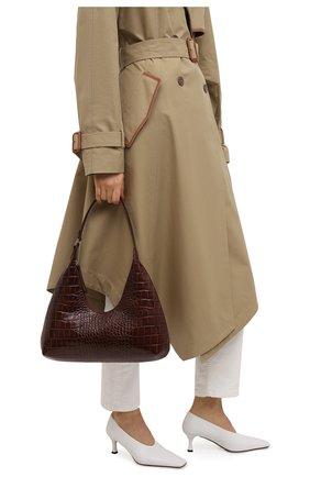 Женская сумка amber large BY FAR коричневого цвета, арт. 21SSAMRSNEDLAR | Фото 2