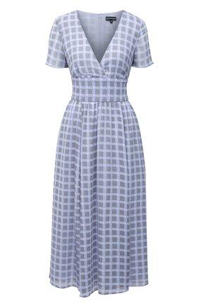 Женское платье EMPORIO ARMANI светло-голубого цвета, арт. 3K2A73/2NXUZ   Фото 1