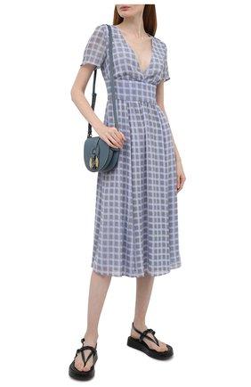 Женское платье EMPORIO ARMANI светло-голубого цвета, арт. 3K2A73/2NXUZ   Фото 2